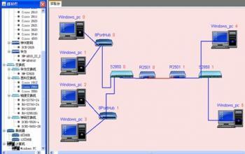 计算机网络虚拟实验教学系统
