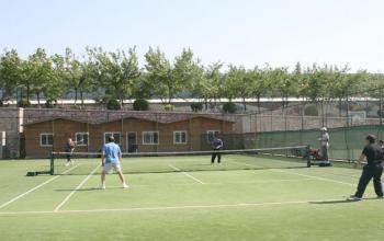 山东体育学院第八届教职工网球赛精彩瞬间