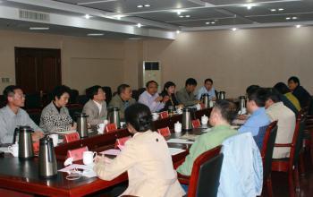 上海体育学院领导班子来我校交流访问