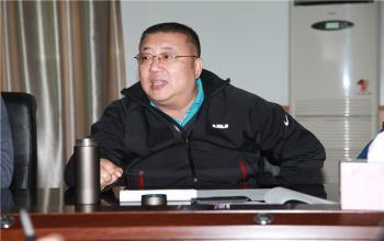 """王毅书记来日照校区开展""""十三五""""发展规划专题调研活动"""