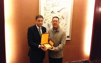 我校与乌克兰国立体育运动大学结为校际友好学校关系