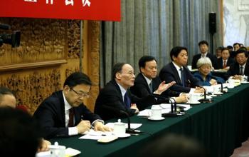 王岐山:全面建成小康社会,打赢脱贫攻坚战,是党的理想信念宗旨决定的
