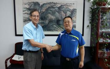 美国德克萨斯大学泰勒分校护理与健康学院院长王永泰教授来访