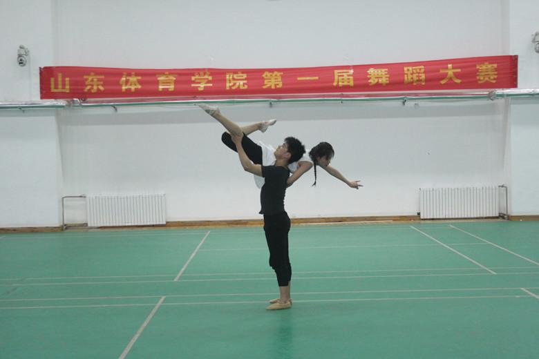 体育艺术系舞蹈教研室指导开展第一届舞蹈比赛