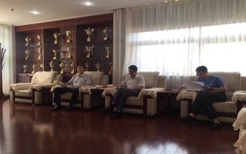 党委院长办公室召开新学期工作会议