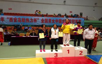 2013年全国中国式摔跤冠军赛我院学生再创佳绩