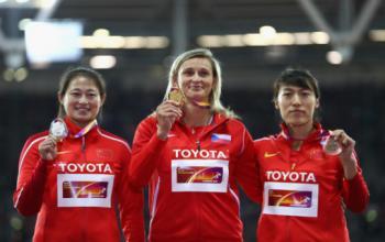 山东体育学院体育硕士李玲蔚荣获世界田径锦标赛亚军
