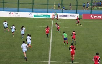 山东体育学院学子获第十三届全运会7人制橄榄球比赛男子组、女子组2枚金牌