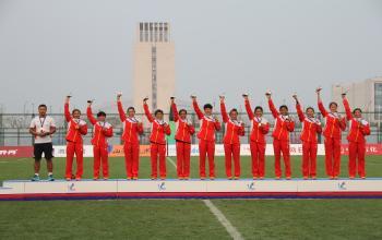 山体人在全运会:十三届全运会橄榄球冠军于丽萍