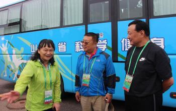 党委书记王毅看望战斗在全运会一线的师生们