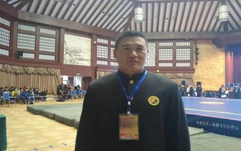 我院教师执裁第三届山东省武术大会散打冠军赛