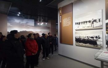 我院组织党员赴山东省政府和八路军115师司令部旧址参观学习