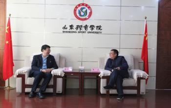 山东建筑大学党委书记陈国前一行访问我校