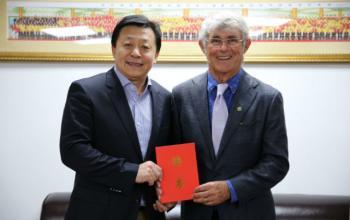 山东体育学院国家足球学院首席技术顾问米卢受聘为中国足协青训顾问