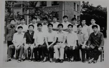 我们是山体人:1980级干部专修科毕业合影