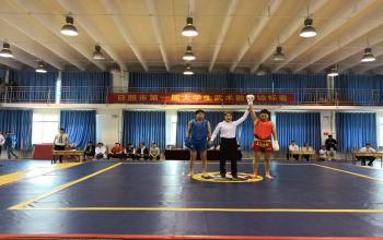 日照市第一届大学生武术散打锦标赛圆满落幕