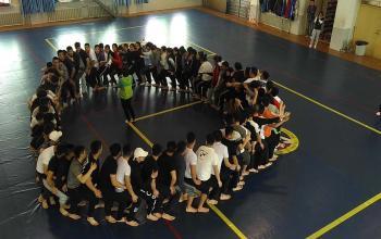 散打教研室与GT国际健身学院合作举办趣味运动会